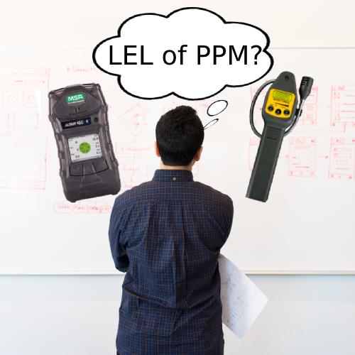 Waarom reageert de LEL-sensor niet?